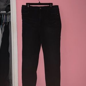 Black Fashion Nova High Waisted Jeans